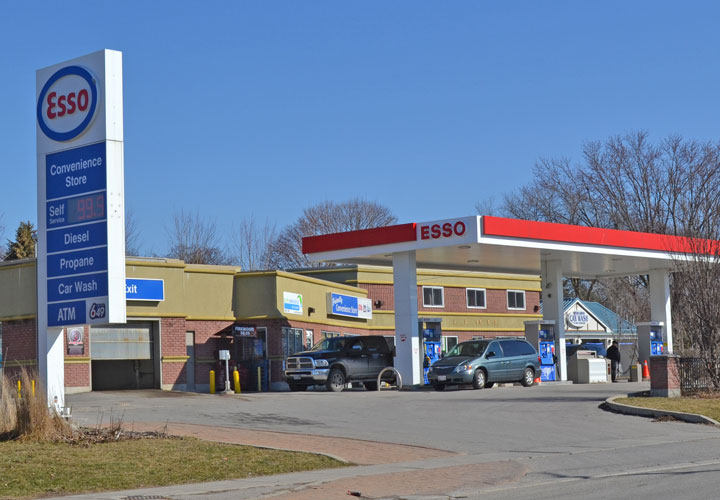 Esso Gas Station - Village of Newcastle, Ontario