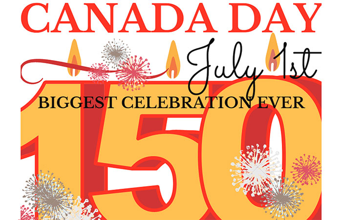 Village of Newcastle Canada Day