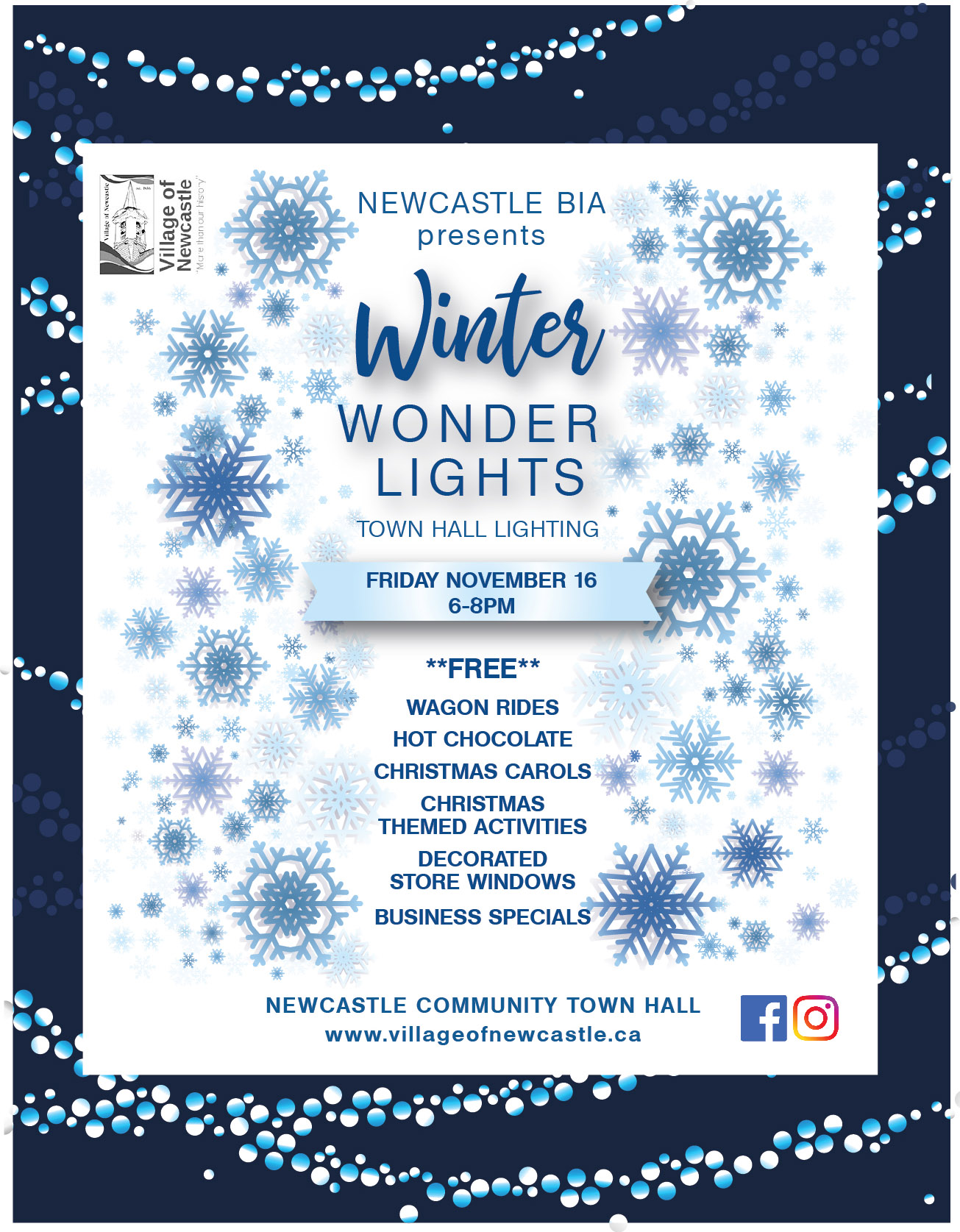 Winter Wonder Lights Newcastle ON